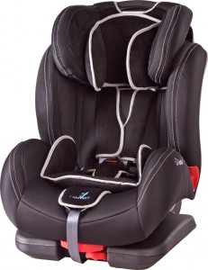 Fotelik DIABLO FIX Caretero 9-36 kg ISOFIX black